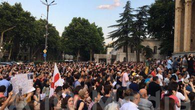 Photo of Третий день акции протеста в Грузии, требования увеличились