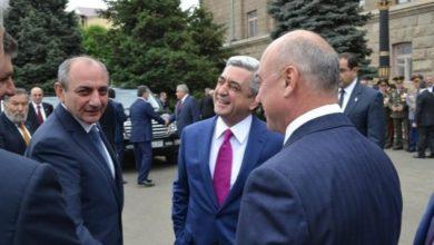 Photo of Поздравительное послание третьему Президенту Армении Сержу Саргсяну в связи с днём его рождения