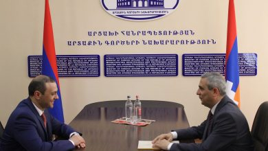 Photo of Արցախում քննարկվել է 2 հայկական պետությունների արտաքին և անվտանգային քաղաքականություններին վերաբերող հարցեր