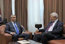 Photo of Արցախի ԱԳՆ ղեկավար Մասիս Մայիլյանն ընդունել է դեսպան Անջեյ Կասպշիկին