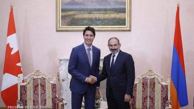 Photo of Никол Пашинян поздравил Джастина Трюдо с Днем Канады