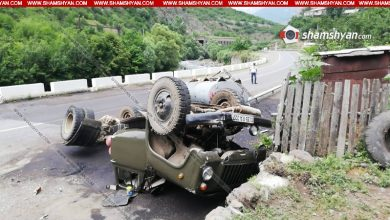 Photo of Խոշոր ավտովթար Լոռու մարզում. բենզինով բարձված բեռնատարը կողաշրջվել է. սկսվել է դիզվառելիքի արտահոսք. կան վիրավորներ