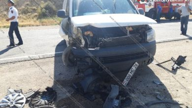 Photo of Վայոց Ձորի մարզում բախվել են Opel Zafira-ն ու Volkswagen-ը. կան վիրավորներ