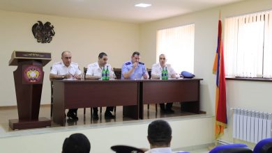Photo of Քննչական կոմիտեի նախագահը խորհրդակցություն է անցկացրել Շիրակի մարզային քննչական վարչությունում և ընդունել է քաղաքացու