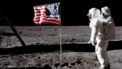 """Photo of Самые знаменитые фотографии, сделанные во время лунной миссии """"Аполлон-11"""""""