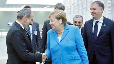Photo of Премьер-министр Никол Пашинян поздравил канцлера Федеративной Республики Германия Ангелу Меркель с днем рождения