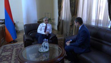 Photo of ՀՀ փոխվարչապետն ու Արցախի պետնախարարը քննարկել են երկու պետությունների համագործակցության հարցերը