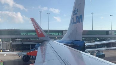Photo of В амстердамском аэропорту столкнулись два самолета