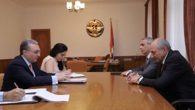 Photo of ԱԳ նախարարը  հանդիպել է Արցախի նախագահ Բակո Սահակյանին