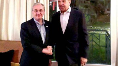 Photo of Зограб Мнацаканян и Сергей Лавров обсудили процесс мирного урегулирования нагорно-карабахского конфликта