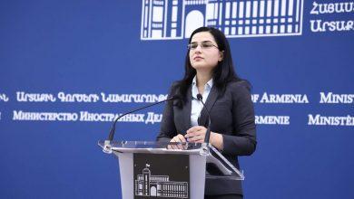 Photo of Заявление пресс-секретаря МИД РА о нарушении режима прекращения огня Азербайджаном