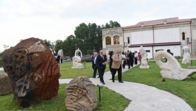 """Photo of Открытие Парка скульптур и фотовыставки """"Небо Арцаха"""" в Шуши"""