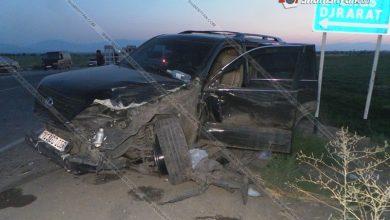 Photo of Խոշոր ավտովթար Արմավիրի մարզում. ճակատ-ճակատի բախվել են Lexus-ն ու գյուղմթերքով բարձված Ford Transit-ը. կան վիրավորներ