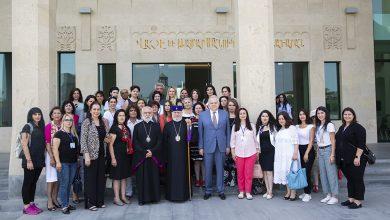 Photo of Ամենայն Հայոց Կաթողիկոսը հանդիպեց   սփյուռքահայ ուսուցիչների հետ