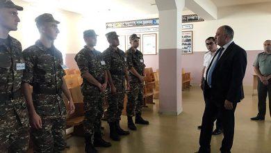 Photo of ՀՀ զինվորական դատախազը ՀՀ ՊՆ կենտրոնական հավաքակայանում հետևել է զորակոչի իրականացման գործընթացին