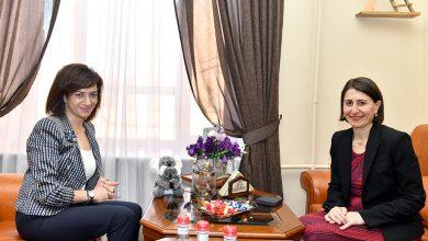 Photo of Анна Акопян и премьер-министр австралийского штата Новый Южный Уэльс Глэдис Береджиклян обсудили пути сотрудничества