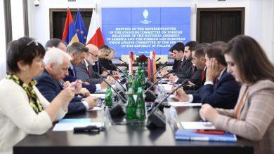 Photo of Վարշավայում տեղի է ունեցել ՀՀ ԱԺ արտաքին հարաբերությունների եւ Լեհաստանի Սենատի արտաքին հարաբերությունների ու ԵՄ-ի հարցերի հանձնաժողովի համատեղ նիստը