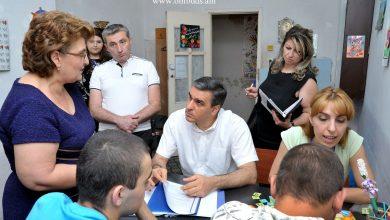 Photo of Պաշտպանն այց է իրականացրել «Փրկություն» հաշմանդամ երեխաների և երիտասարդների կենտրոն