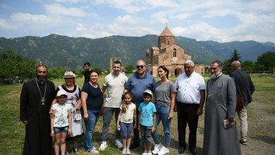 Photo of Նախագահ Արմեն Սարգսյանն այցելել է Օձունի վանական համալիր