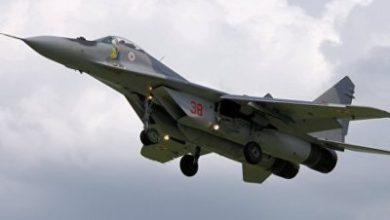 Photo of В Каспийском море упал азербайджанский МиГ-29