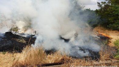 Photo of Հրշեջ-փրկարարները մարել են մոտ 52.6 հա խոտածածկ տարածքներում բռնկված հրդեհները