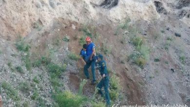 Photo of Փրկարարները երեխային անվնաս իջեցրել են ժայռից