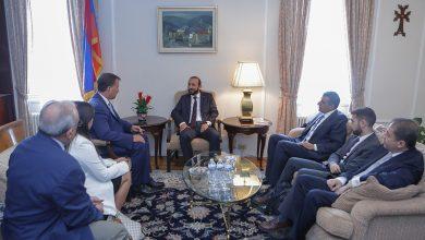 Photo of Встречи главы парламента с представителями армянских организаций США