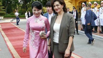 Photo of «Հրավիրում եմ Ձեզ Հայաստան․ վստահ եմ, որ ինչպես ես սիրեցի Ձեր երկիրը, Դուք էլ կսիրեք Հայաստանը»․ Աննա Հակոբյանը Վիետնամի վարչապետի տիկնոջը