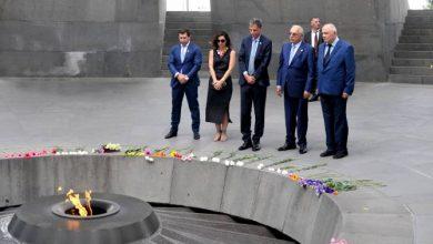 Photo of Հայաստանում Իսրայելի նորանշանակ դեսպանն այցելել է Ծիծեռնակաբերդ
