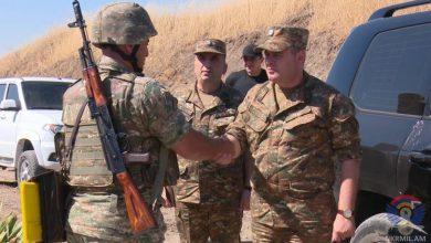 Photo of ՀՀ զինված ուժերի գլխավոր շտաբի պետը եղել է բանակային առաջնագծի մի շարք ուղղություններում