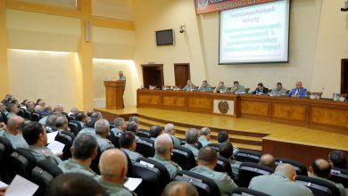 Photo of ՀՀ ՊՆ վարչական համալիրում անցկացվել է ՀՀ պաշտպանության նախարարին կից կոլեգիայի նիստ