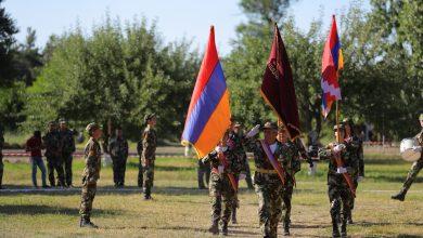 Photo of ՀՀ պաշտպանության նախարարը մասնակցել է ԵԿՄ ուսումնամարզական ճամբարի բացման արարողությանը