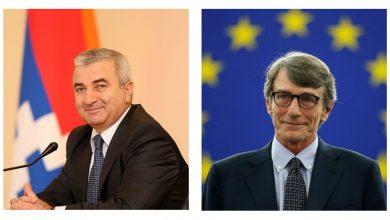 Photo of Աշոտ Ղուլյանը շնորհավորել է Եվրոպական խորհրդարանի նորընտիր նախագահ Դավիթ Սասոլիին