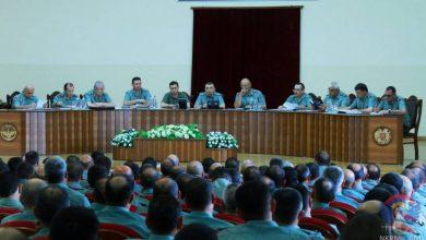 Photo of ՊԲ հրամանատար, Կարեն Աբրահամյանի ղեկավարությամբ անց է կացվել ՊԲ-ի ռազմական խորհրդի նիստ