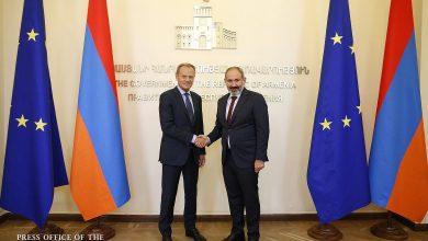 Photo of Никол Пашинян и Дональд Туск обсудили перспективы развития отношений Армения-ЕС