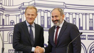 Photo of Հայաստանի վարչապետը և Եվրոպական խորհրդի նախագահը հանդես են եկել երկկողմ բանակցությունների արդյունքներն ամփոփող հայտարարություններով