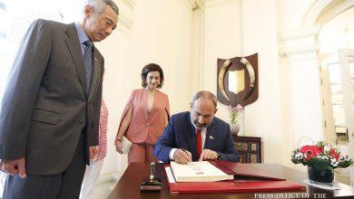 Photo of Состоялась встреча премьер-министров Армении и Сингапура: подписан ряд двусторонних документов