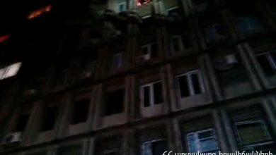 Photo of Հրդեհ Խորենացու փողոցում