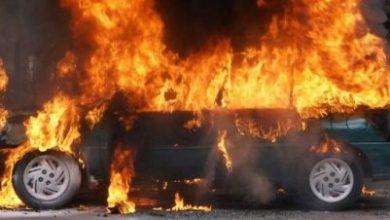 Photo of Բագրատաշենում մեքենա է այրվել