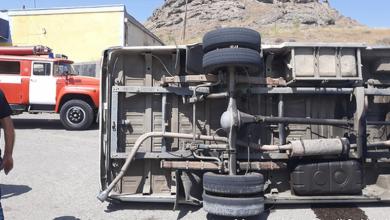 Photo of Դիզվառելիք տեղափոխող բեռնատարը Օձունի մոտ շրջվել է. 2 մարդ տեղափոխվել է Ալավերդու ԲԿ