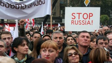 Photo of Ադրբեջանցիները Վրաստանում մասնակցում են հակաիշխանական ցույցերին
