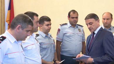Photo of Ոստիկանները պարգեւավճարներ են ստացել