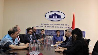 Photo of Масис Маилян принял делегацию, возглавляемую депутатом Европарламента Мартином  Зоннеборном