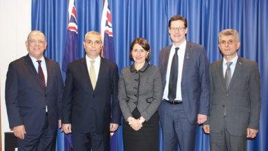 Photo of Глава МИД Арцаха Масис Маилян встретился с премьер-министром штата Новый Южный Уэльс Австралии Глэдис Береджиклян