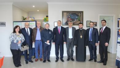 Photo of Глава МИД Республики Арцах выступил на встрече с армянской общиной Австралии