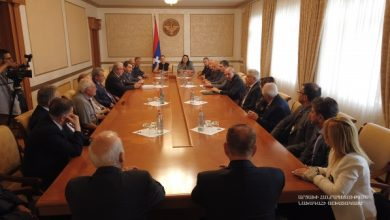Photo of Встреча с членами Международного комитета Всеармянских летних игр