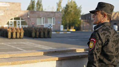 Photo of Վալերիյ Օսիպյանը դիրքեր է ճանապարհել ոստիկանության զորքերի հերթական հերթափոխին