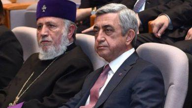 Photo of Սերժ Սարգսյանը հեռախոսազրույց է ունեցել Ամենայն Հայոց Կաթողիկոսի հետ և շնորհավորել նրան ծննդյան օրվա առթիվ