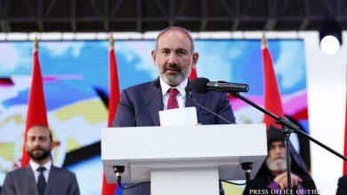 Photo of На Всеармянском митинге в Степанакерте Никол Пашинян еще раз озвучил призыв «Миацум»