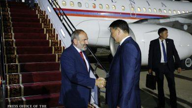 Photo of Վարչապետ Նիկոլ Փաշինյանն աշխատանքային այցով ժամանել է Ղրղզստան